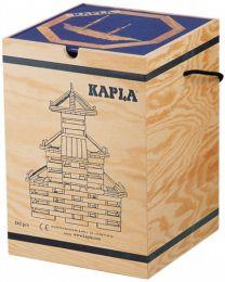 Kapla - Bausteine - 280 Stück + Buch Blau