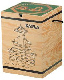 Kapla - Bausteine - 280 Stück + Buch Grün