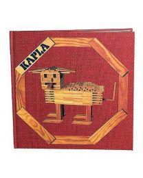 Kapla - Bausteine - Buch 1 - Rot