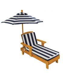 Kidkraft - Liegestuhl Mit Sonnenschirm