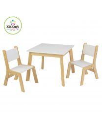 Kidkraft - Moderner Tisch Mit 2 Stühlen