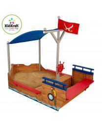 Kidkraft - Sandkasten Piratenschiff