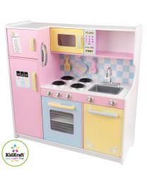 Kidkraft - Große Pastell Kinderküche