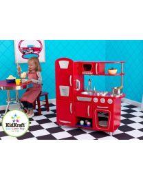 Kidkraft - Rote Retro-Kinderküche