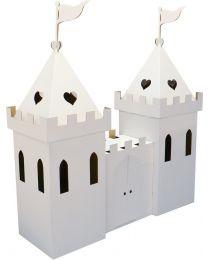 Kid Eco - Karton Prinzessin Schloss Weiss