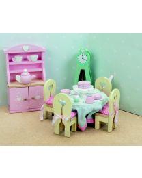 Le Toy Van - Daisylane - Esszimmer - Für Puppenhaus