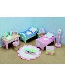 Le Toy Van - Daisylane - Kinderzimmer - Für Puppenhaus