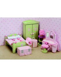 Le Toy Van - Daisylane - Schlafzimmer - Für Puppenhaus