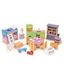 Le Toy Van - Starter Möbelset - Für Puppenhaus