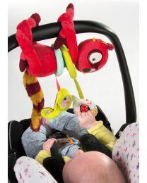 Lilliputiens - Aktiv-Lemur Georges - Baby Spielzeug für unterwegs