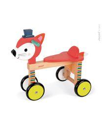 Janod - Fuchs - Holz Laufrad