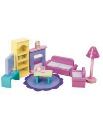 Le Toy Van - Sugar Plum Wohnzimmer - Für Puppenhaus