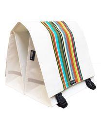 Clarijs - Technicolor XL - 44L - Fahrradtasche