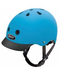 Nutcase - Street Bay Blue Matte - L - Fahrradhelm (60-64cm)