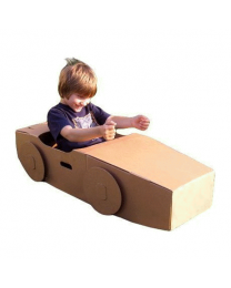 Paperpod - Karton Auto Braun