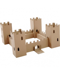 Paperpod - Karton Schloss Braun