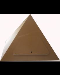 Paperpod - Karton Pyramide Braun
