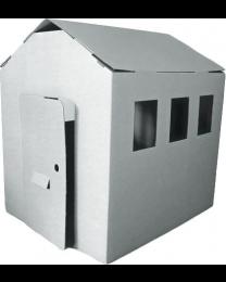 Paperpod - Karton Schuppen Weiß