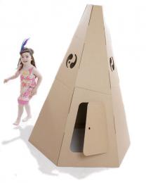 Paperpod - Karton Tipi Braun
