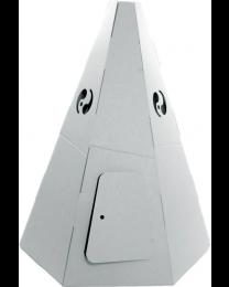 Paperpod - Karton Tipi Weiß