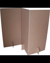 Paperpod - Karton Trennwand Braun