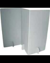 Paperpod - Karton Trennwand Weiß