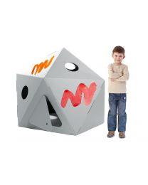 Paperpod - Karton Kapsel Weiss