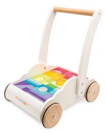 Le Toy Van - Regenbogen-Wolkenwanderer - Holz Laufauto