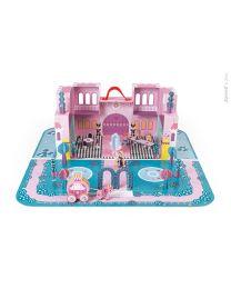 Janod - Prinzessin Schloss – Spielset im koffer