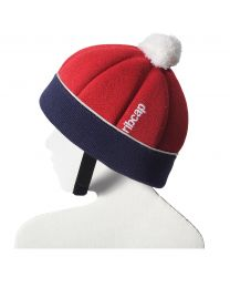 Ribcap - Freddie Rot/Marineblau Midi Kids - 51-52cm