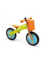 Scratch - Balance Bike L - Bienen - Holz Laufrad