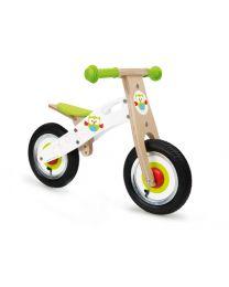 Scratch - Balance Bike S - Eule - Holz Laufrad