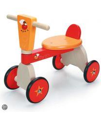Scratch - Move-It 4-Wheel Walker Rennfahrende Fliegen - Laufauto