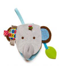 Skip Hop - Elefant Kuscheltier/Buch - Baby Spielzeug
