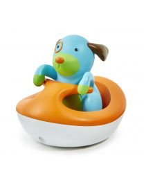 Skip Hop - Zoo Bath Rev Up Wave Rider Hund - Badespielzeug