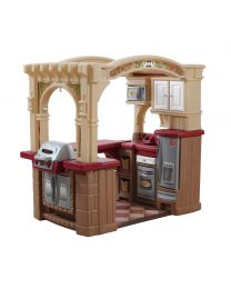 Step2 - Große Walk-in Kinderküche und Grill
