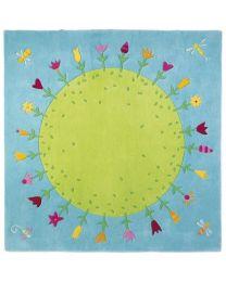 Haba - Blumenplanet - Kinderteppich - 150x150cm