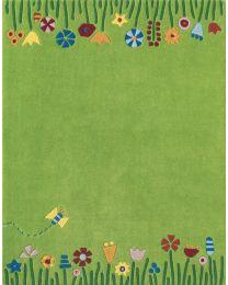 Haba - Weide - Kinderteppich - 135x105cm