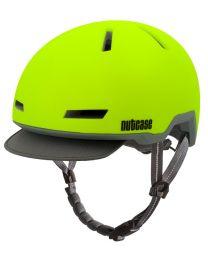 Nutcase - Tracer Funken gelb Matt - M/L - Fahrradhelm (56-60 cm)