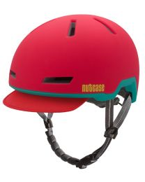 Nutcase - Tracer Ember Rot Matt - M/L - Fahrradhelm (56-60 cm)