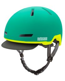 Nutcase - Tracer Aurora Grün Matt - S/M - Fahrradhelm (52-56 cm)