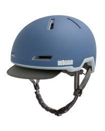 Nutcase - Tracer Sturm Blau Matt - M/L - Fahrradhelm (56-60 cm)