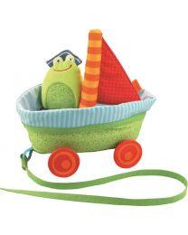 Haba - Nachziehwagen Mit Geräuschen - Baby Spielzeug