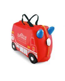 Trunki - Frank Feuerwehrauto - Ride-on und Reisekoffer - Rot