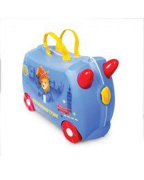 Trunki - Paddington Bär - Ride-on und Reisekoffer - Blau