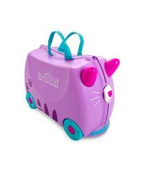 Trunki - Cassie Katze - Ride-on und Reisekoffer - Rosa