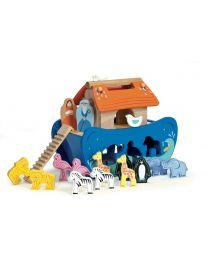 Le Toy Van - Noahs Sortierboot - Holzspielset
