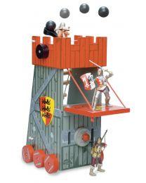 Le Toy Van - Belagerungsturm - Holzspielset