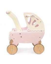 Le Toy Van - Kinderwagen aus Holz - Rosa