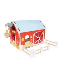 Le Toy Van - Rote Scheune - Holzspielset